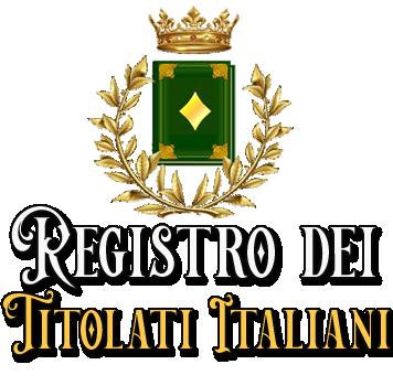 REGISTRO TITOLATI ITALIANI